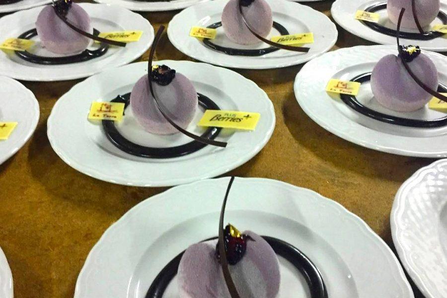 Nuestras berries en las Jornadas de Alta Gastronomía en Miniatura «Minimal»