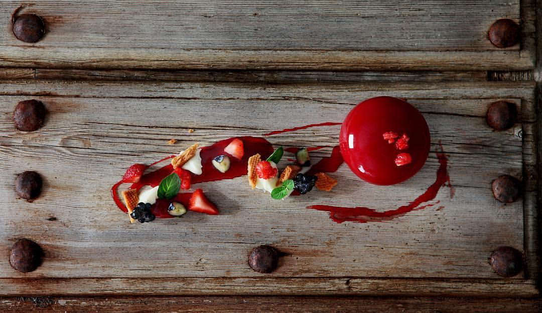 Nuestras berries formar parte de la cocina de vanguardia
